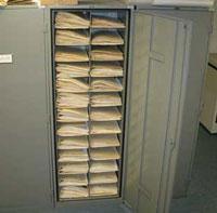 Herbarium Shelves to preserve plant specimens