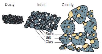 Gruzełki i pory w glebie